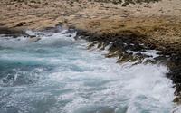 Breaking waves wallpaper 2880x1800 jpg