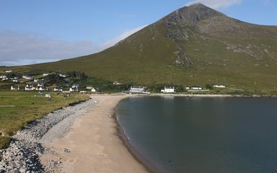 Dugort Beach in Mayo wallpaper