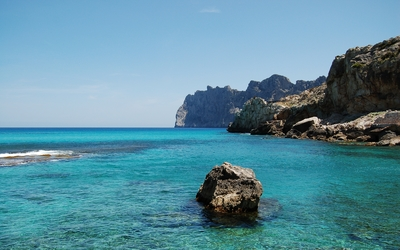 Cala de Sant Vicent wallpaper