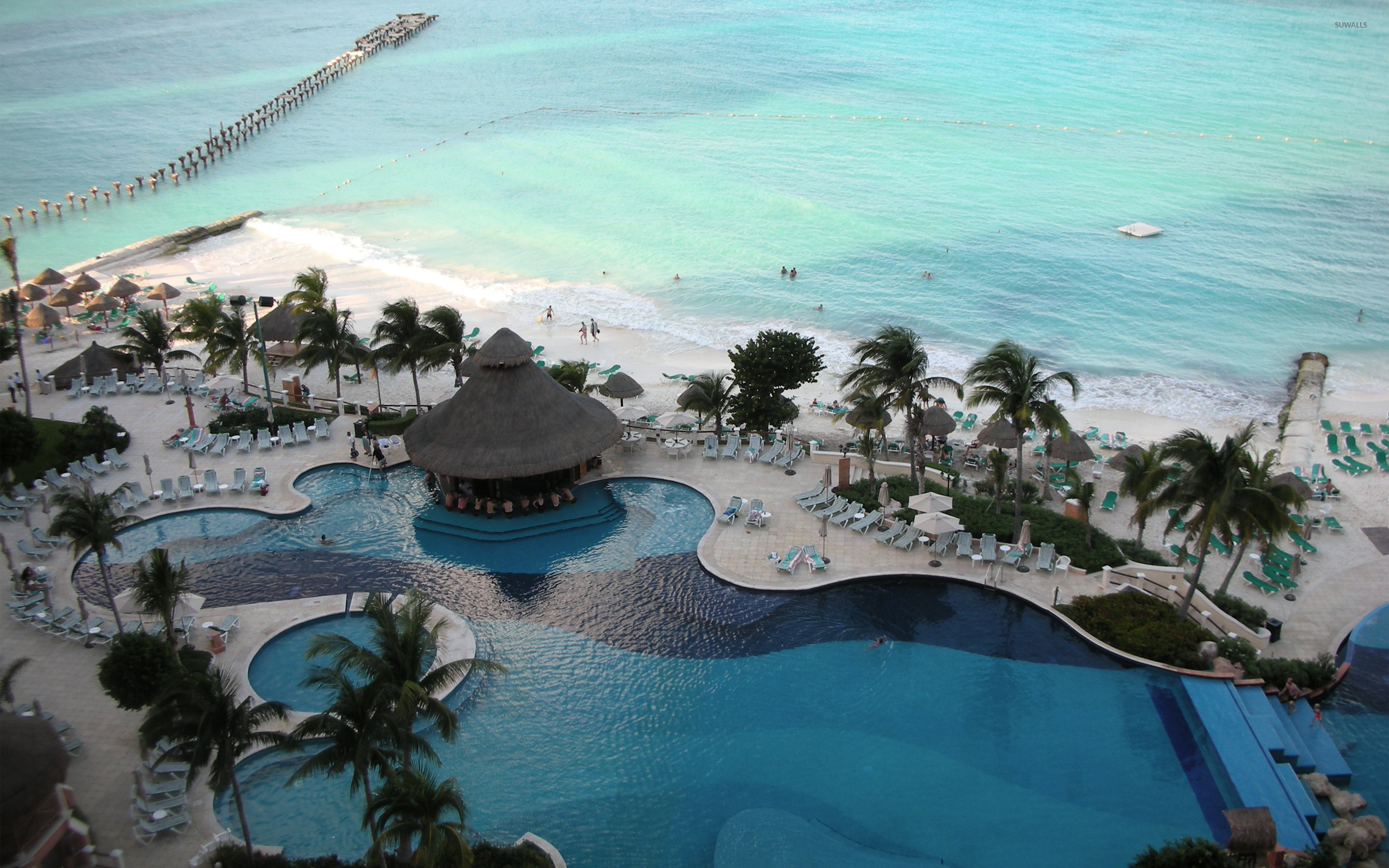 Cancun Wallpaper Beach Wallpapers 2923