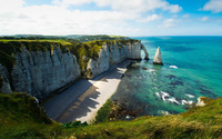 Etretat wallpaper 1920x1200 jpg