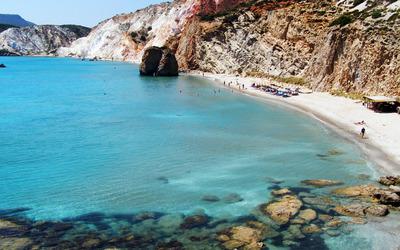 Firiplaka beach, Greece Wallpaper
