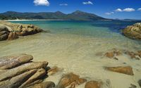 Hazard Beach, Freycinet National Park wallpaper 1920x1080 jpg