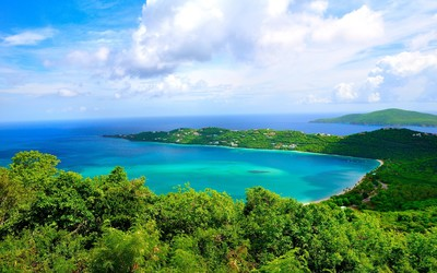 Magens Bay, Saint Thomas wallpaper