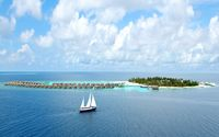 Maldives resort wallpaper 2560x1600 jpg