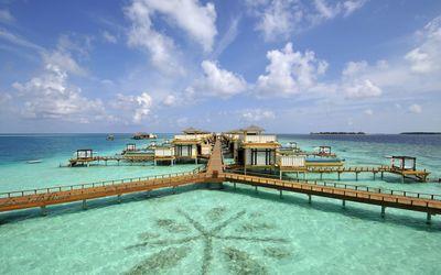 Maldives resort [3] wallpaper