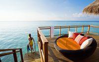 Maldives resort [2] wallpaper 2560x1600 jpg