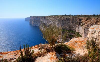 Malta shore wallpaper