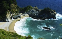 McWay Falls - Julia Pfeiffer Burns State Park wallpaper 2560x1600 jpg