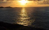 Ocean sunset wallpaper 2880x1800 jpg