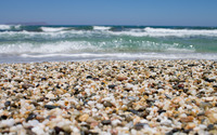 Pebbly beach wallpaper 2880x1800 jpg