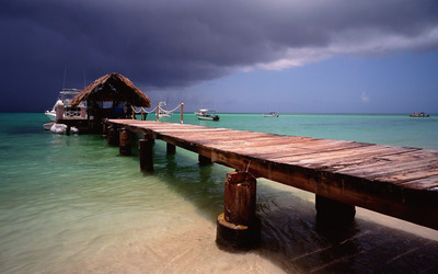Pigeon Point, Tobago wallpaper