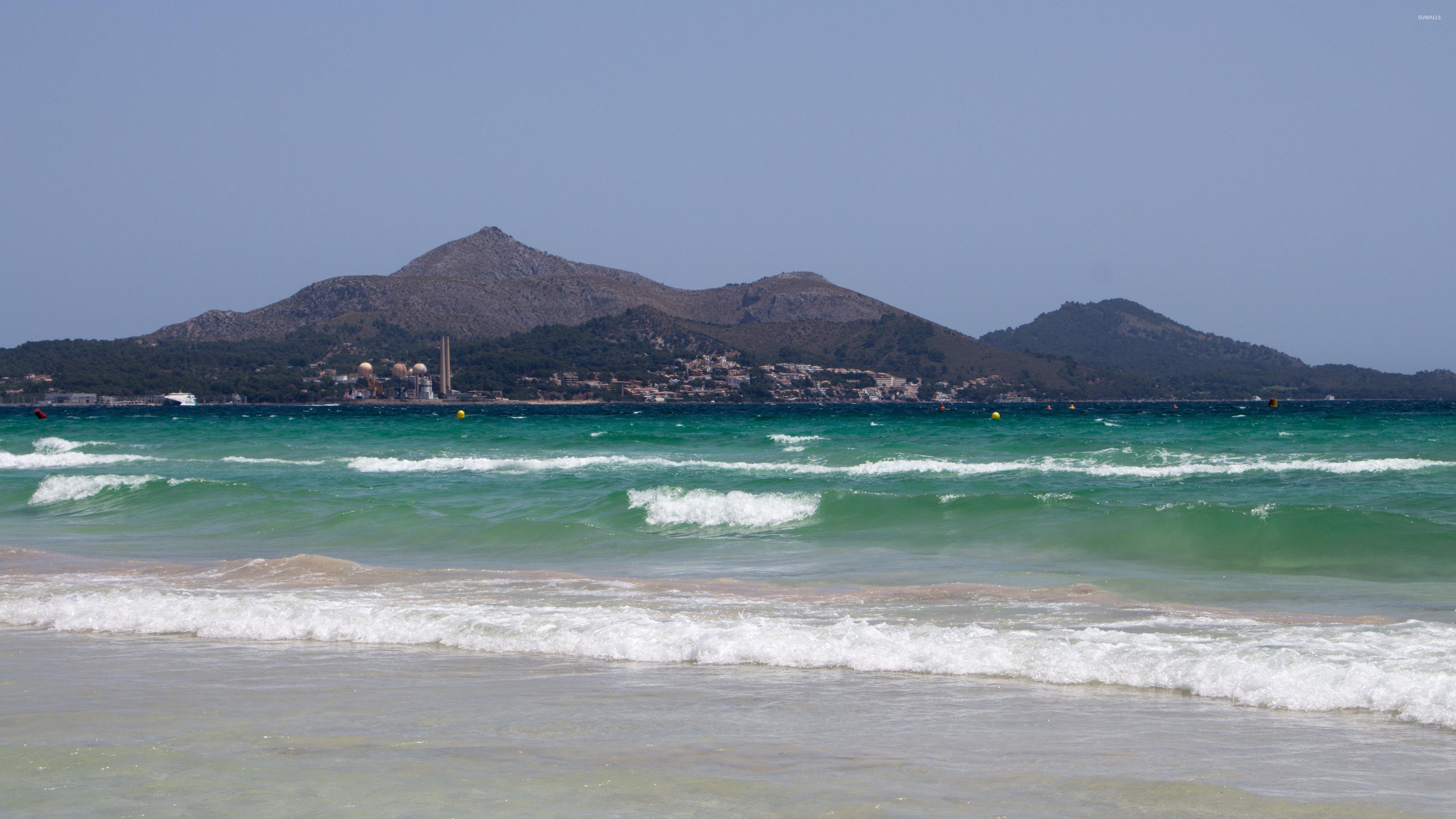 Playa de Muro beach wallpaper - Beach wallpapers - #48334