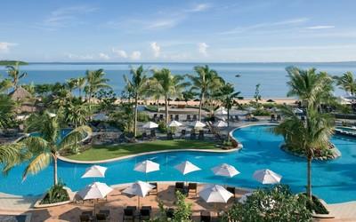 Resort in Fiji wallpaper