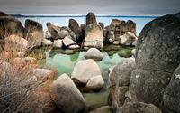 Rocky beach [3] wallpaper 2560x1600 jpg