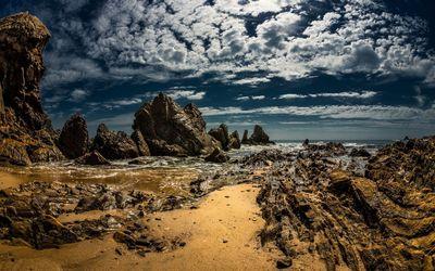 Rocky beach [6] wallpaper