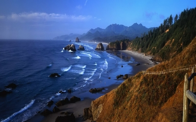 Rocky coastline [2] wallpaper