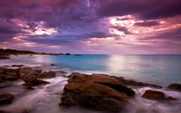 Rocky seashore wallpaper 1920x1200 jpg