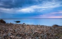 Rocky shore [4] wallpaper 1920x1200 jpg