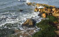 Rocky shore [9] wallpaper 2560x1440 jpg
