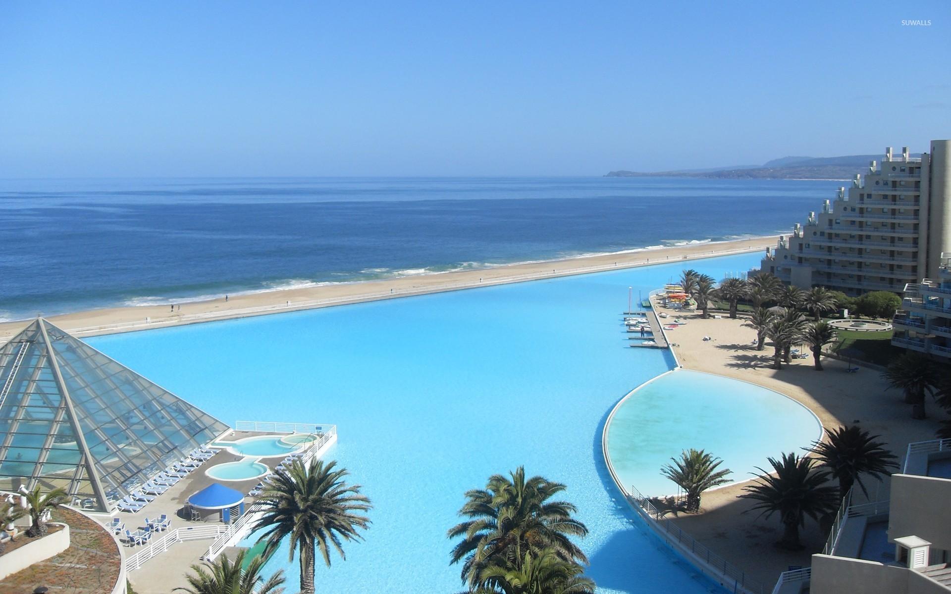 San alfonso del mar wallpaper beach wallpapers 10444 for Modelos de piscinas en chile