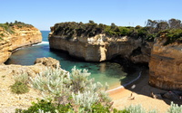 The Loch Ard Gorge wallpaper 1920x1200 jpg