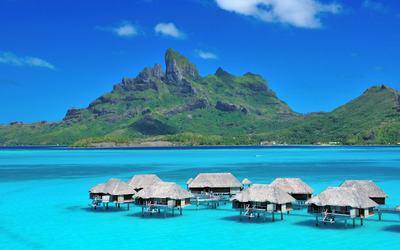 The St. Regis Bora Bora Resort wallpaper