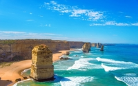 The Twelve Apostles stack in Victoria wallpaper 1920x1200 jpg