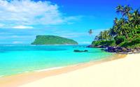 Tropical bay wallpaper 2560x1600 jpg