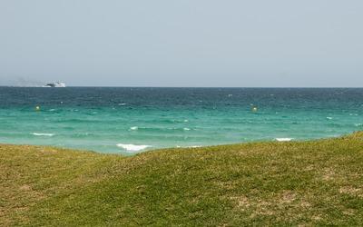 Turqoise sea in Playa de Muro wallpaper
