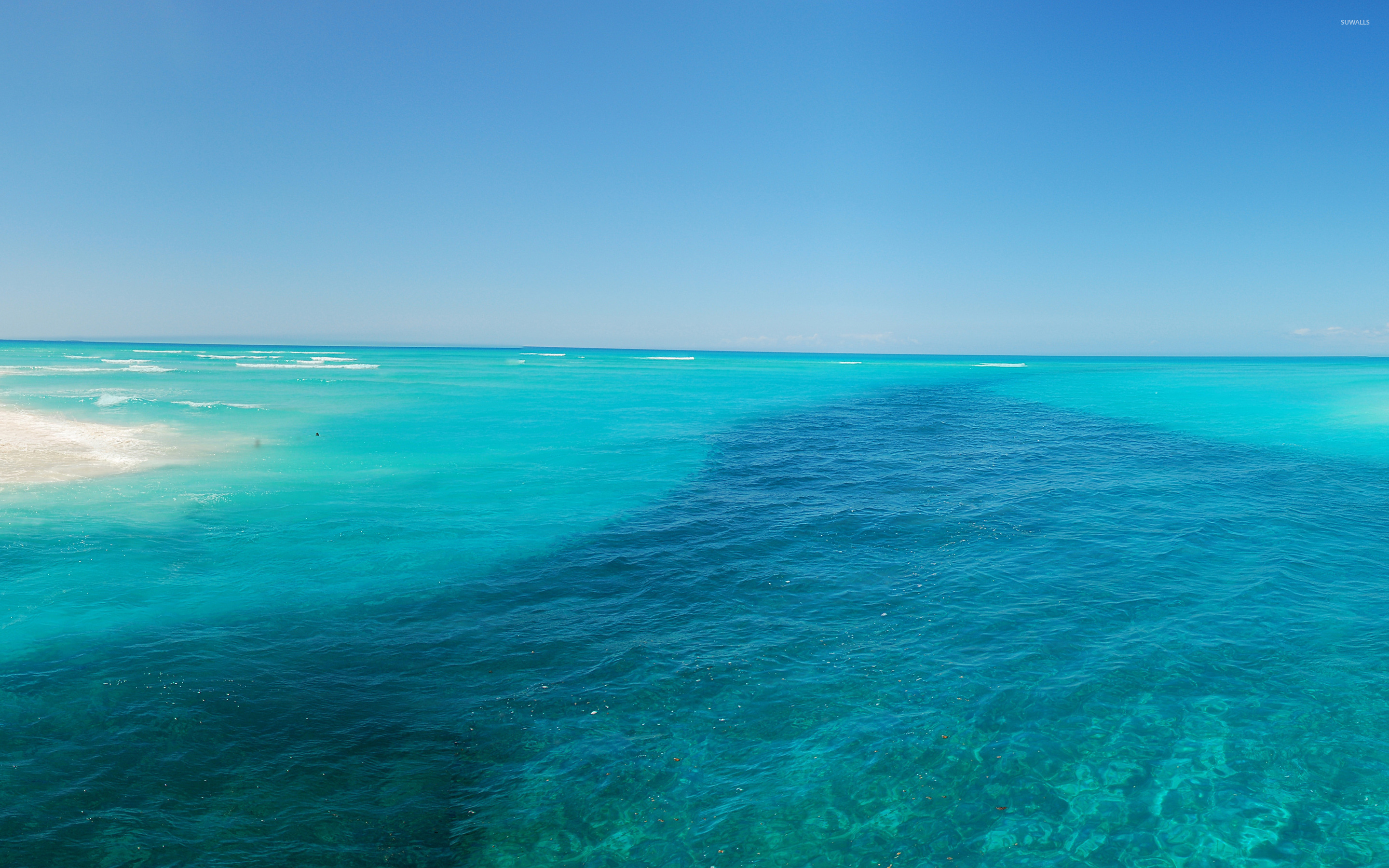 Turquoise sea wallpaper - Beach wallpapers - #31076