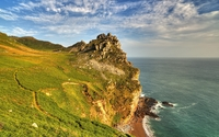 Valley of the Rocks on a sunny day wallpaper 2560x1600 jpg
