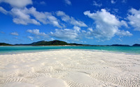 White sandy beach wallpaper 2880x1800 jpg