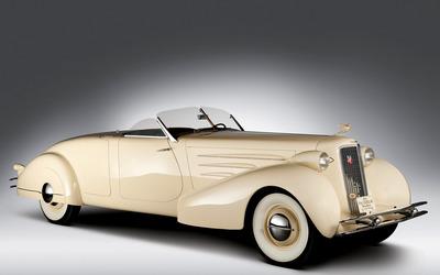 1937 Cadillac V-16 wallpaper