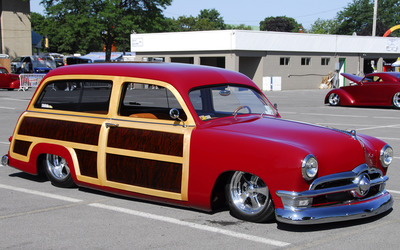 1950 Ford Country Squire wallpaper
