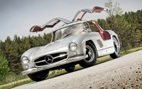 1955 Mercedes-Benz 300SL Coupe wallpaper 1920x1200 jpg