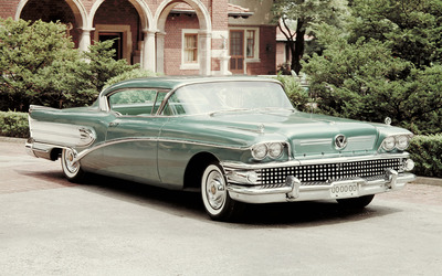 1958 Buick Super wallpaper