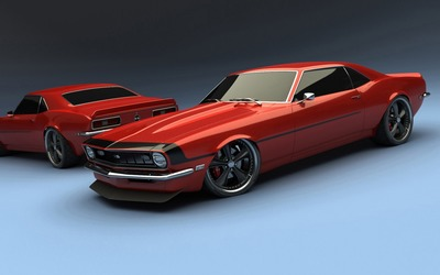 1969 Chevrolet Camaro SS wallpaper