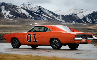 1969 General Lee side view wallpaper