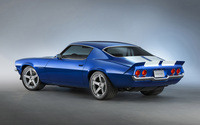 1970 Chevrolet Camaro RS Supercharged back view wallpaper 2560x1440 jpg