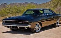 1970 Dodge Charger R/T front side view wallpaper 1920x1080 jpg