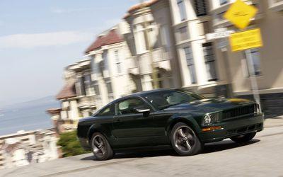 2008 Ford Mustang Bullitt [2] wallpaper