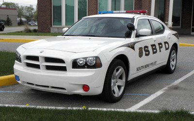 2009 Dodge Charger Police car wallpaper