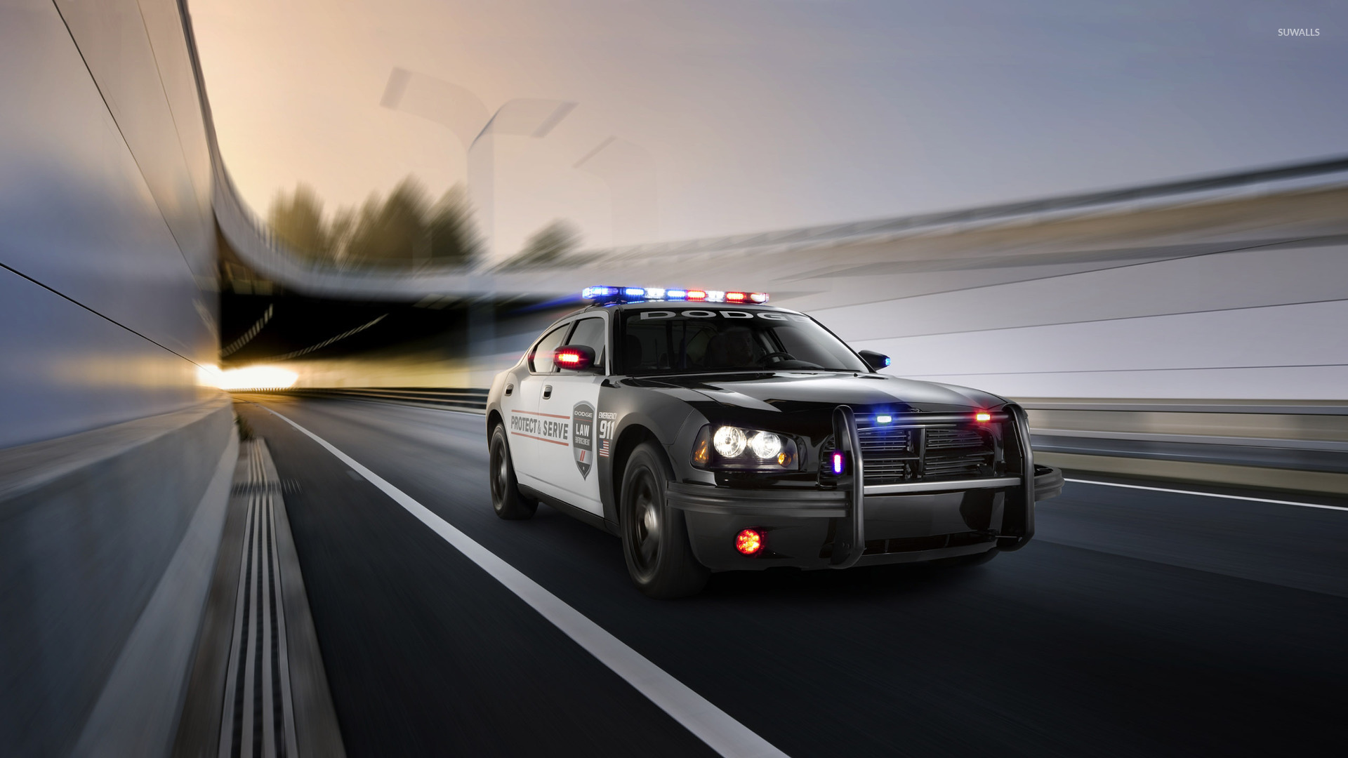 2010 Dodge Charger Police Car Wallpaper Car Wallpapers