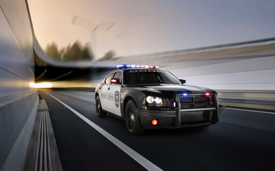 2010 Dodge Charger Police car wallpaper