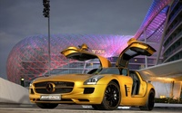 2010 Mercedes-Benz SLS AMG wallpaper 1920x1200 jpg
