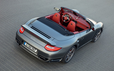 2010 Porsche 911 Turbo Cabrio Facelift wallpaper