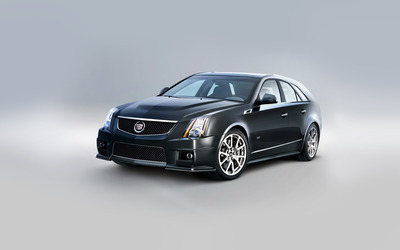 2011 Cadillac CTS-V Sport Wagon [2] wallpaper