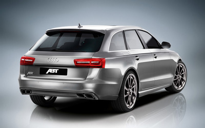 2012 ABT Audi AS6 back view wallpaper