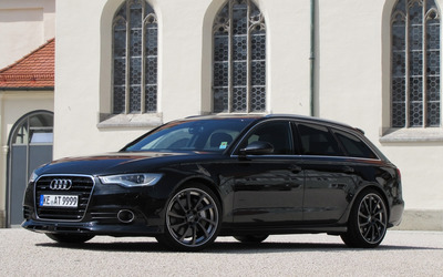2012 ABT Audi AS6 front side view wallpaper